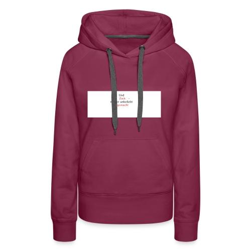 zack unbeliebt - Frauen Premium Hoodie
