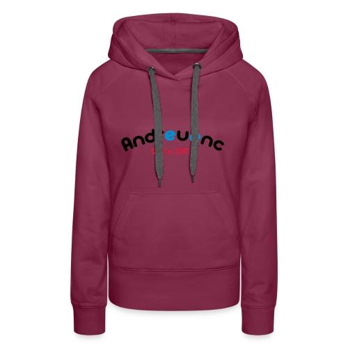 Andreuenc - Sudadera con capucha premium para mujer