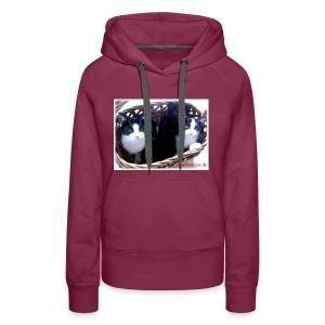 Katzenkorb - Frauen Premium Hoodie