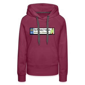 TYRONE, NORTHERN IRELAND licence plate tags decal - Women's Premium Hoodie