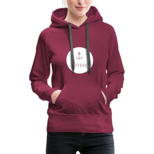 Ostsee Button - Frauen Premium Hoodie