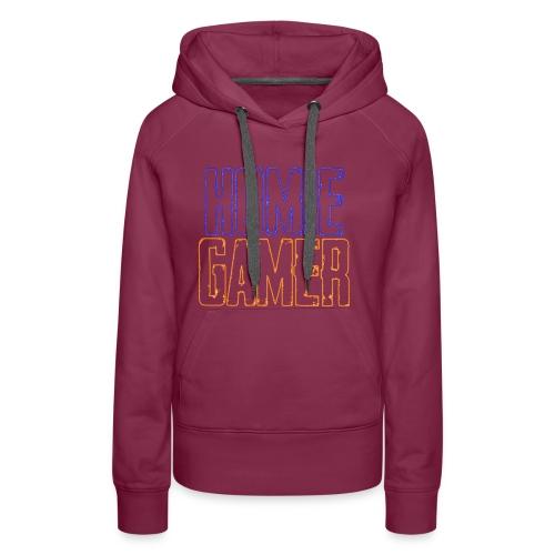 Hømie Gamer Klær (Neon Stil) - Premium hettegenser for kvinner