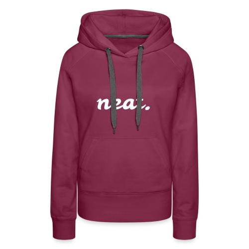 neat2 - Frauen Premium Hoodie