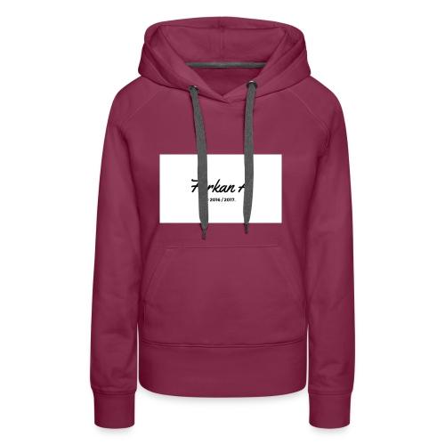 Furkan A - Drinkfles - Vrouwen Premium hoodie