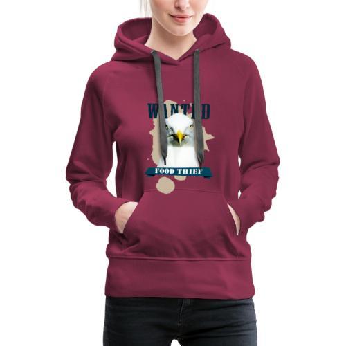 WANTED - FOOD THIEF - Frauen Premium Hoodie