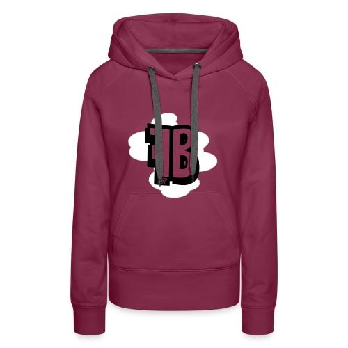FUZY_BOT MUISMAT VERTICAAL - Vrouwen Premium hoodie