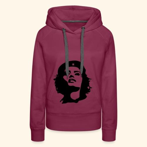 Revolutionärin Geschenk Idee Mythos - Frauen Premium Hoodie