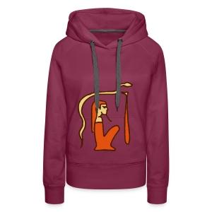 Hieroglyphen Dsched Medu - Frauen Premium Hoodie