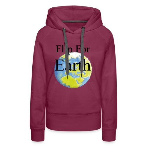 Flip For Earth T-shirt - Premiumluvtröja dam