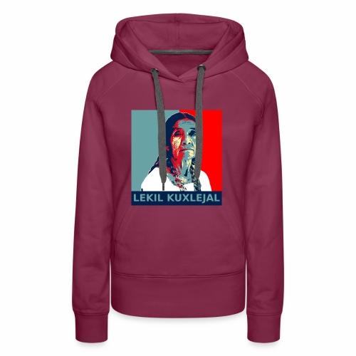 Lekil Kuxlejal - Sudadera con capucha premium para mujer