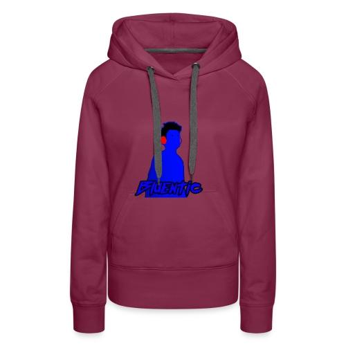 Bluentic T-shirt - Felpa con cappuccio premium da donna