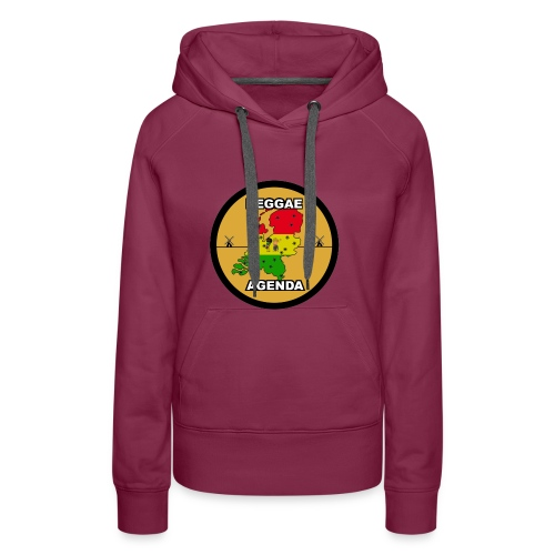 reggae agenda PSD web 2017 PNG - Vrouwen Premium hoodie