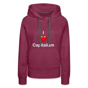 I Love Capitalisum - Frauen Premium Hoodie