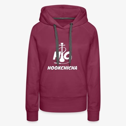 Design Officiel de la team HookChicha - Sweat-shirt à capuche Premium pour femmes