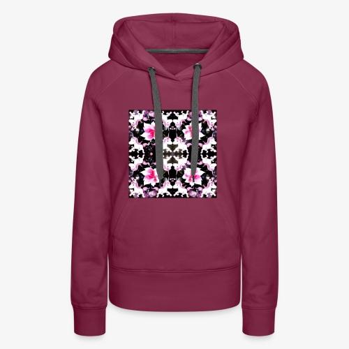 unicorn design - Women's Premium Hoodie