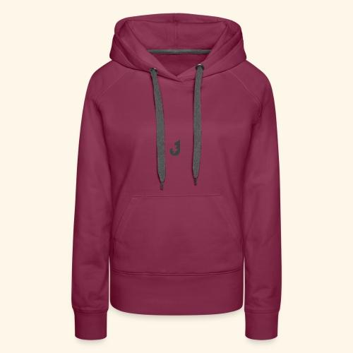 Small J Logo Tee - Women's Premium Hoodie