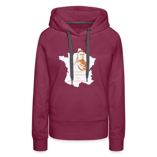 Cardinal Pie - Sweat-shirt à capuche Premium pour femmes