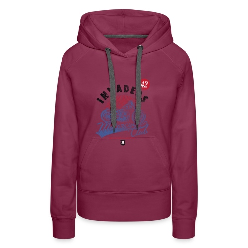 DownloadT-ShirtDesigns-com-2121724 Invaders - Women's Premium Hoodie