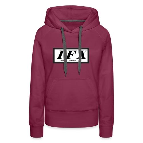 Logo Hoodie 2[IFX] - Frauen Premium Hoodie