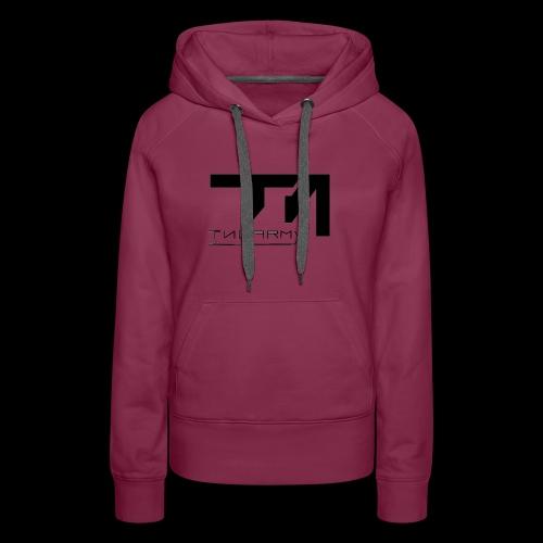 TNG NEW Black - Frauen Premium Hoodie