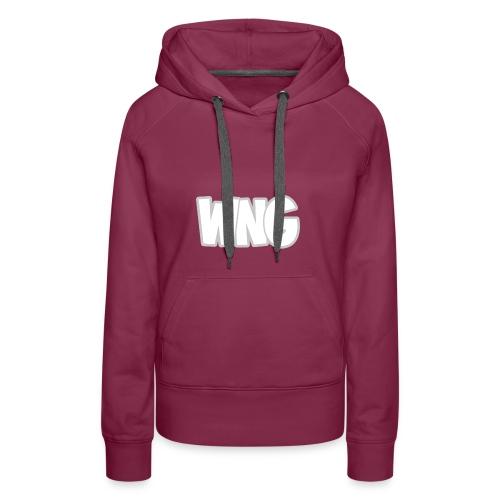 Vrouwen Sweater (Logo Groot, Borst) - Vrouwen Premium hoodie