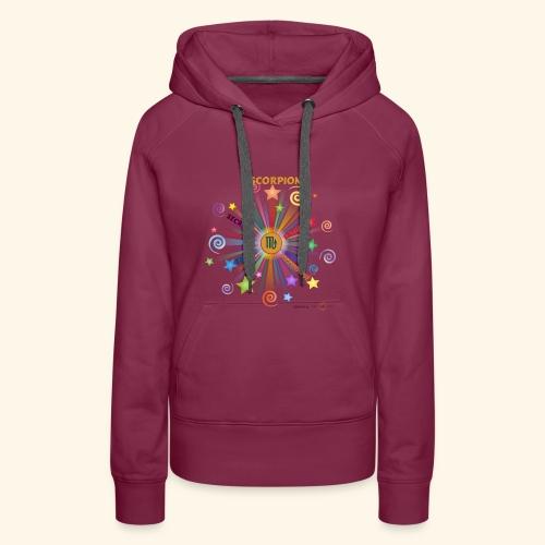 SCORPION powers - Sweat-shirt à capuche Premium pour femmes