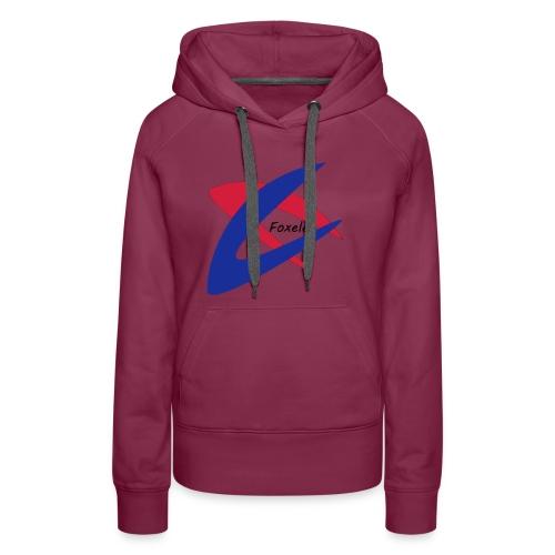 Red/Blue - Women's Premium Hoodie
