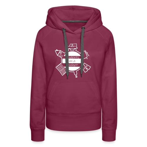 Students on a budget - Frauen Premium Hoodie