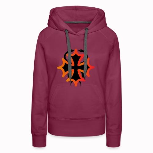 Étiopathie Toulouse - Sweat-shirt à capuche Premium pour femmes