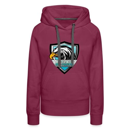 Fan shirt + Logo - Vrouwen Premium hoodie