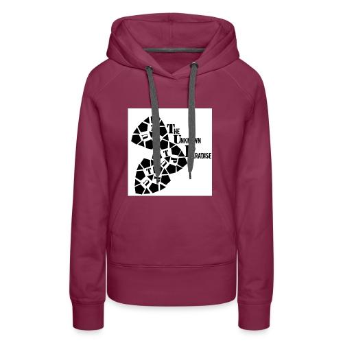 Camiseta Logo Standard The Unknown Paradise - Sudadera con capucha premium para mujer