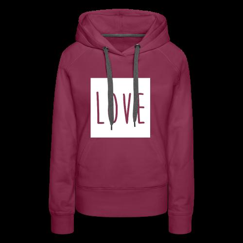 Love Women - Women's Premium Hoodie