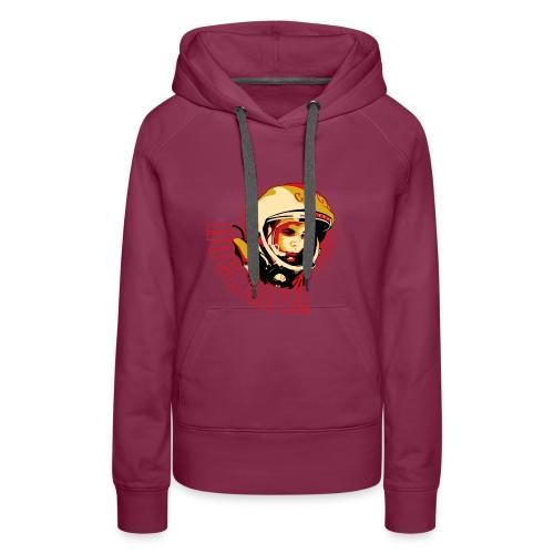 Yuri Gagarin - Sudadera con capucha premium para mujer