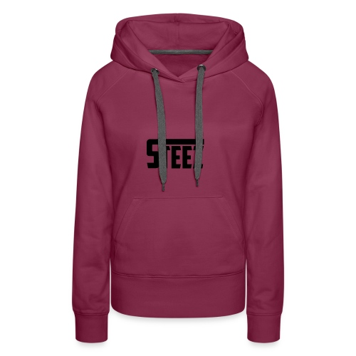 steez tshirt name - Vrouwen Premium hoodie