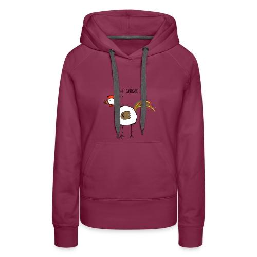 hey_chick_color - Vrouwen Premium hoodie