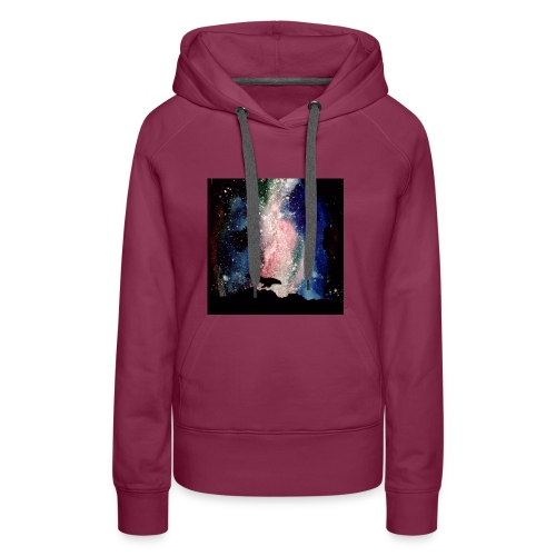 Whales - Sweat-shirt à capuche Premium pour femmes