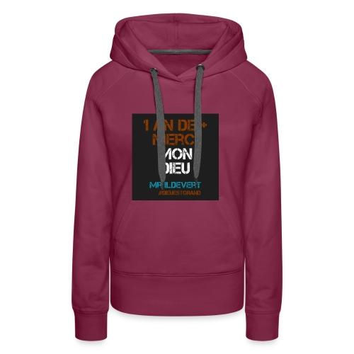 MMD - Sweat-shirt à capuche Premium pour femmes