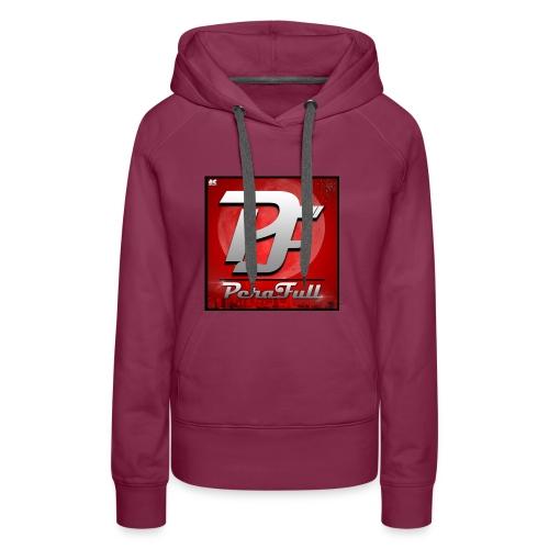 PeraFull Logo 2016 - Sudadera con capucha premium para mujer