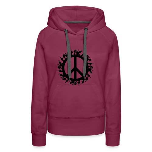 Peace 4 the World - Frauen Premium Hoodie