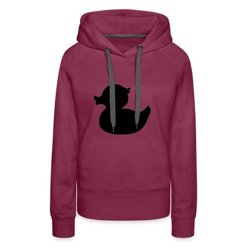 Duck Black - Vrouwen Premium hoodie
