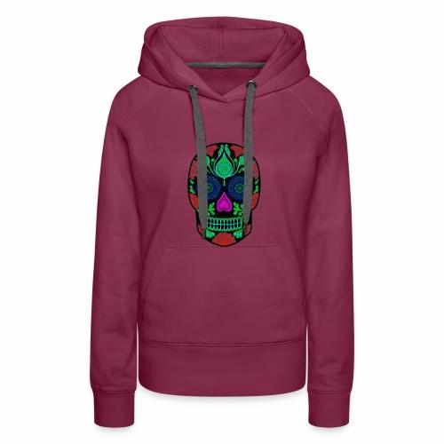 mexican skull - Vrouwen Premium hoodie