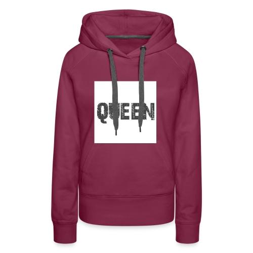 queen shirt - Vrouwen Premium hoodie