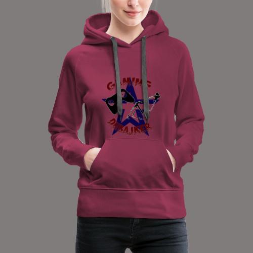 dhbajker gaming Stern - Frauen Premium Hoodie