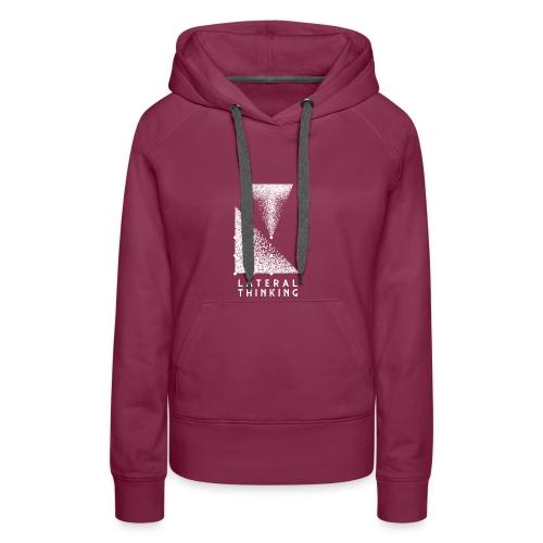 Lateral Thinking - Sweat-shirt à capuche Premium pour femmes