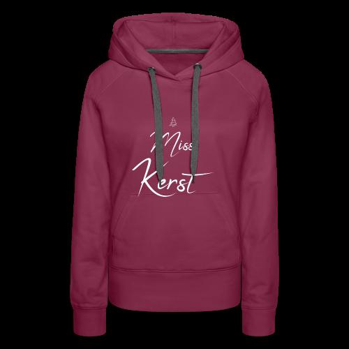 Miss Kerst - Vrouwen Premium hoodie