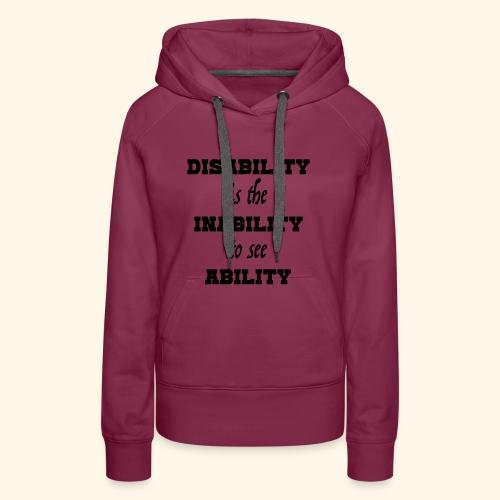 Ability4 - Vrouwen Premium hoodie