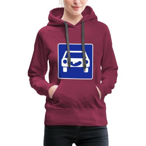Kraftfahrtstrasse anfang - Frauen Premium Hoodie
