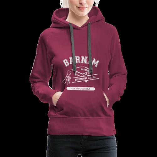 Member Club Logo (hellgrau) - Frauen Premium Hoodie