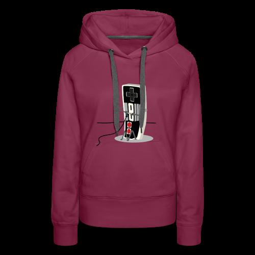 gamers - Sudadera con capucha premium para mujer