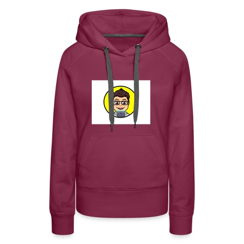 Youtube kanaal icon zonder naam - Vrouwen Premium hoodie